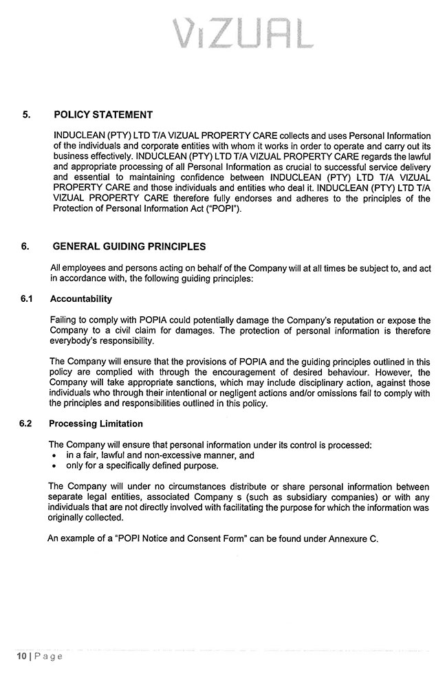 POPI-Manual---Induclean-(Pty)-Ltd_Page_10