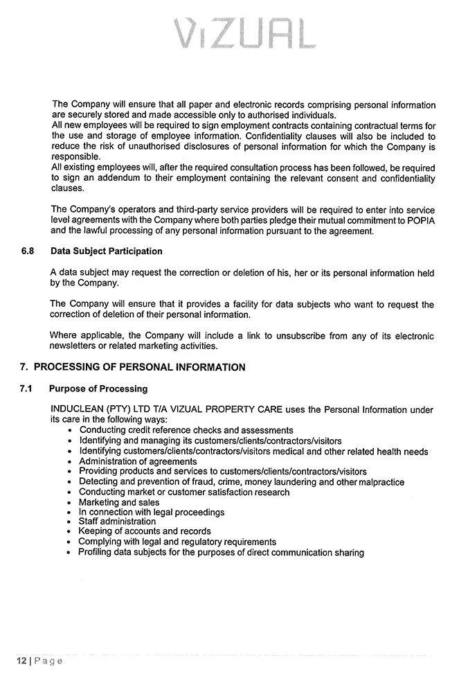 POPI-Manual---Induclean-(Pty)-Ltd_Page_12