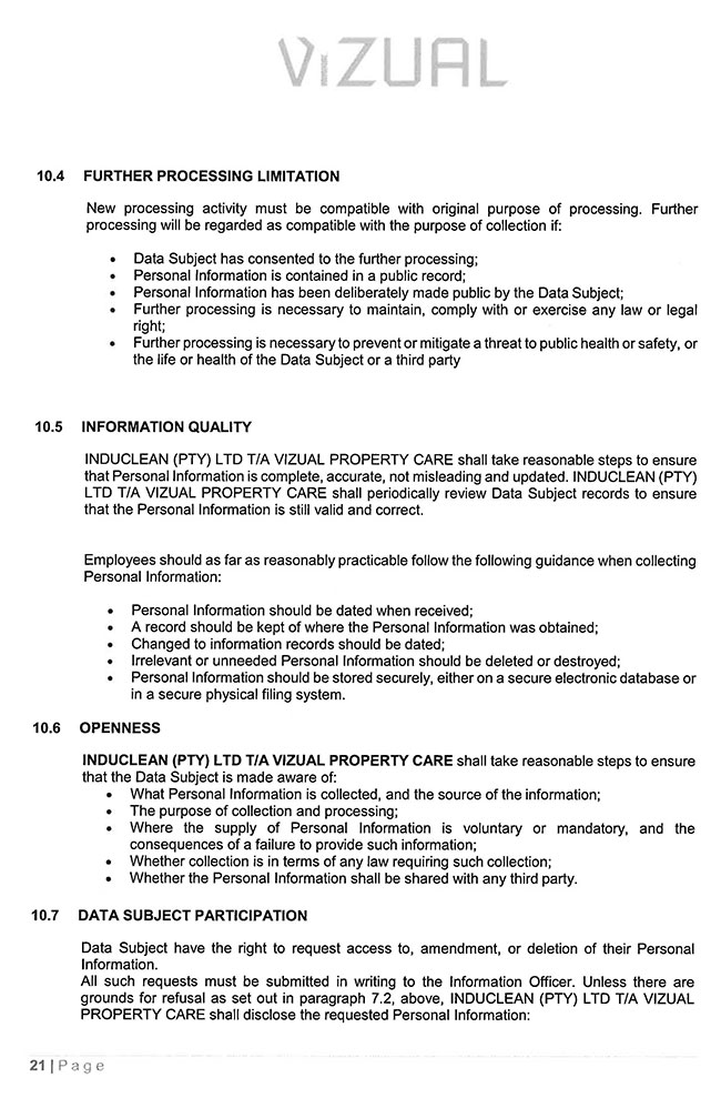 POPI-Manual---Induclean-(Pty)-Ltd_Page_21