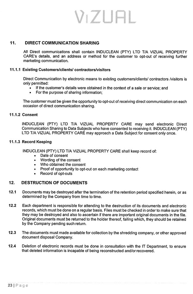 POPI-Manual---Induclean-(Pty)-Ltd_Page_23